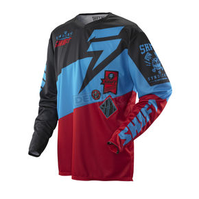 Shift Slate Red/Black Faction Jersey - 07240-055-L