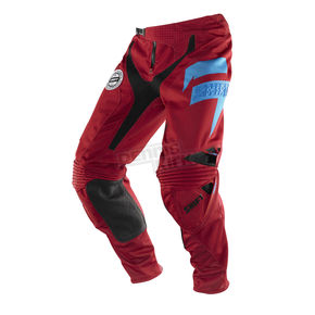 Shift Slate Red/Black Faction Pants - 07241-055-28