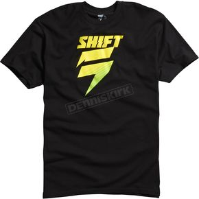 Shift Black/Yellow Satellite T-Shirt - 07258-019-L