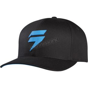 Shift Black/Blue Barbolt Flex-Fit Hat - 07267-013-L/XL