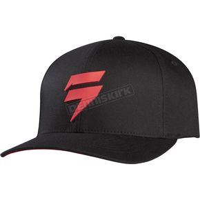 Shift Black/Red Barbolt Flex-Fit Hat - 07267-017-L/XL