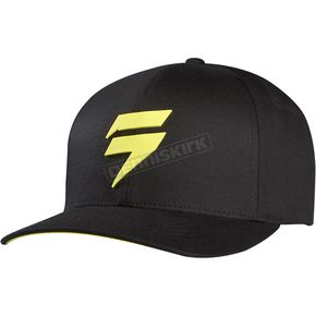 Shift Black/Yellow Barbolt Flex-Fit Hat - 07267-019-L/XL