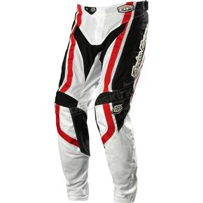 Troy Lee Designs Black/Red Factory GP Air Pants - 0524-0228