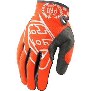 Troy Lee Designs Orange/Black SE Pro Gloves - 0604-0710