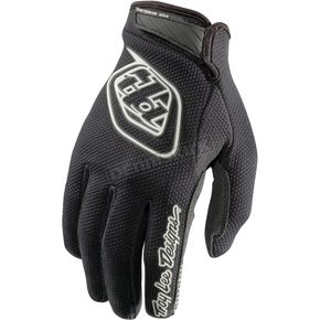 Troy Lee Designs Youth Black/White Air Gloves - 406003205