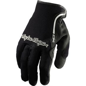Troy Lee Designs Black/White XC Gloves - 428003205