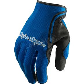 Troy Lee Designs Blue/Black XC Gloves - 428003302