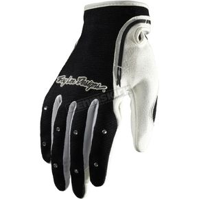 Troy Lee Designs Womens Black/White XC Gloves - 429003203