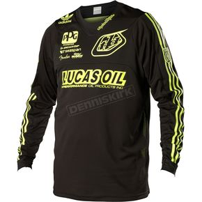 Troy Lee Designs Yellow/Black Team SE Pro Jersey - 0704-0510