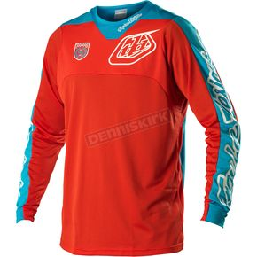 Troy Lee Designs Red/Blue Corse SE Pro Jersey - 0704-1410
