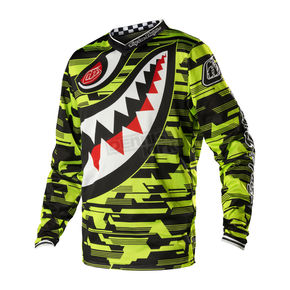 Troy Lee Designs Youth Yellow/Black P-51 GP Air Jersey - 0734-4506