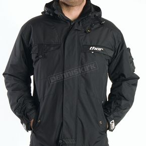 Thor Podium Heavyweight Black Jacket - 2920-0380