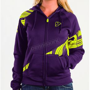 Thor Whirl Premium Purple Zip-Up - 3051-0660