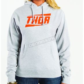 Thor Womens Voltage Gray Pullover Hoody - 3051-0680