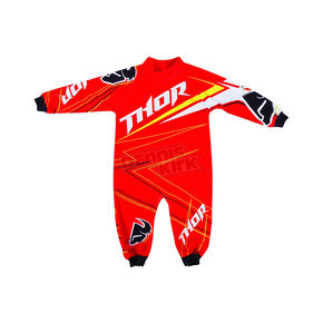 Thor Infant Red Stripe PJ's - 3070-0834