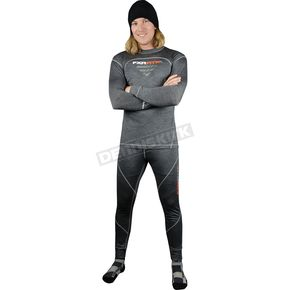 FXR Racing Gray 50% Merino Base Pants - 14803.20016