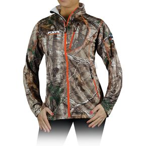 FXR Racing Womens Realtree Xtra Camo Elevation Full Zip Long Sleeve Shirt - 13864