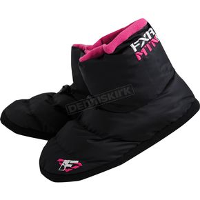 FXR Racing Womens Black Slip-On Boots - 14842