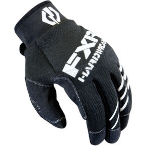 FXR Racing Black Mechanics Gloves - 13640.10007