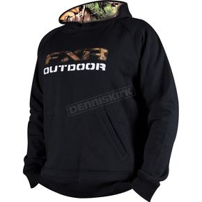 FXR Racing Black Outdoor Hoody - 14859
