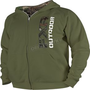 FXR Racing Moss Outdoor Zip Hoody - 14860