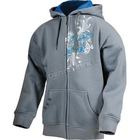 FXR Racing Girls Gray Sophia Hoody - 13887