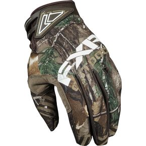 FXR Racing Realtree Xtra Camo Cold Cross Race Gloves - 2804