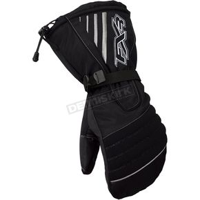 FXR Racing Womens Black Fuel Mitts - 2813.10013