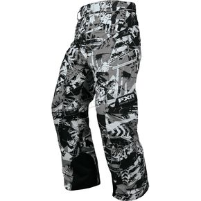 FXR Racing Gray Sabotage Squadron Pants - 13175