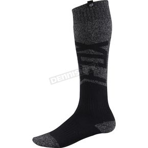 Fox Black/Gray Thick Coolmax Given Socks - 08011-014-M