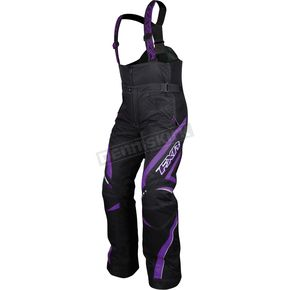 FXR Racing Womens Black/Purple Team Pants - 13250