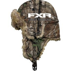 FXR Racing Realtree Xtra Camo Aviator Hat - 13715.33308
