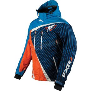 FXR Racing Blue Volt Mission Jacket - 14101.40316