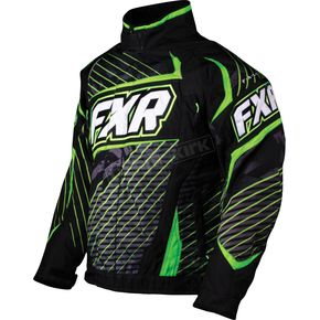 FXR Racing Green Echo Helix Jacket - 14115
