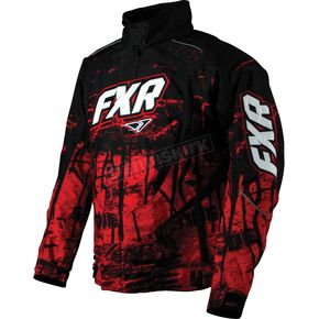 FXR Racing Red Fury Slasher Jacket - 14135