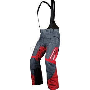 FXR Racing Red/Charcoal Recoil Pants - 14156