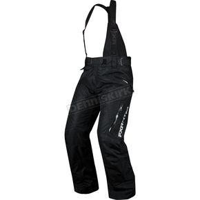 FXR Racing Womens Black Vertical Pants - 14280