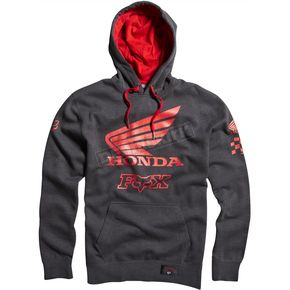 Fox Charcoal Heather Premium Honda Race Zip Hoody - 09469-123