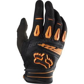 Fox Orange Pawtector Gloves - 01016-009-L