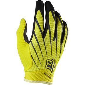 Fox Yellow/Black Airline Gloves - 01090-069-L