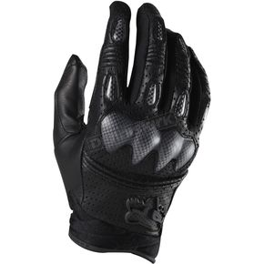 Fox Black Bomber S Gloves - 01095-001-S