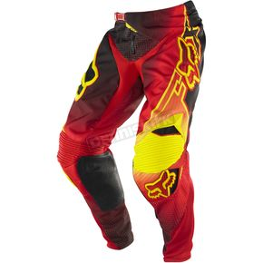 Fox Red/Yellow 360 Flight Pants - 06398-080-28