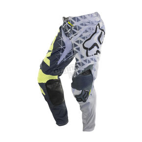 Fox Gray/Yellow 360 Given Pants - 06401-086-28