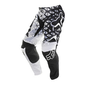 Fox White/Black 360 Given Airline Pants - 06402-058-28