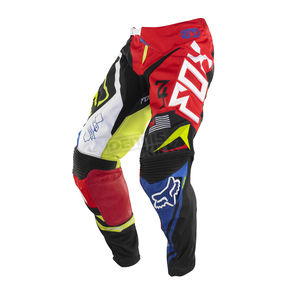 Fox Youth Black/Red 360 Intake Pants - 07062-017-24