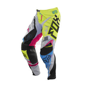 Fox Youth Green/Blue 360 Intake Pants - 07062-148-24
