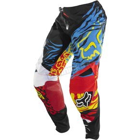 Fox Black/Red 360 Forzaken Pants - 08247-017-28