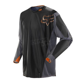 Fox Gray/Orange Legion Jersey - 08478-230-L
