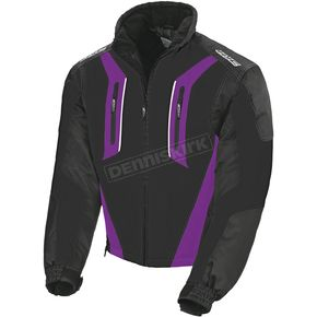 HJC Womens Black/Purple Storm Jacket - 1406-092