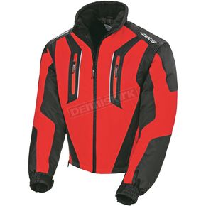 HJC Youth Black/Red Storm Jacket - 1408-014